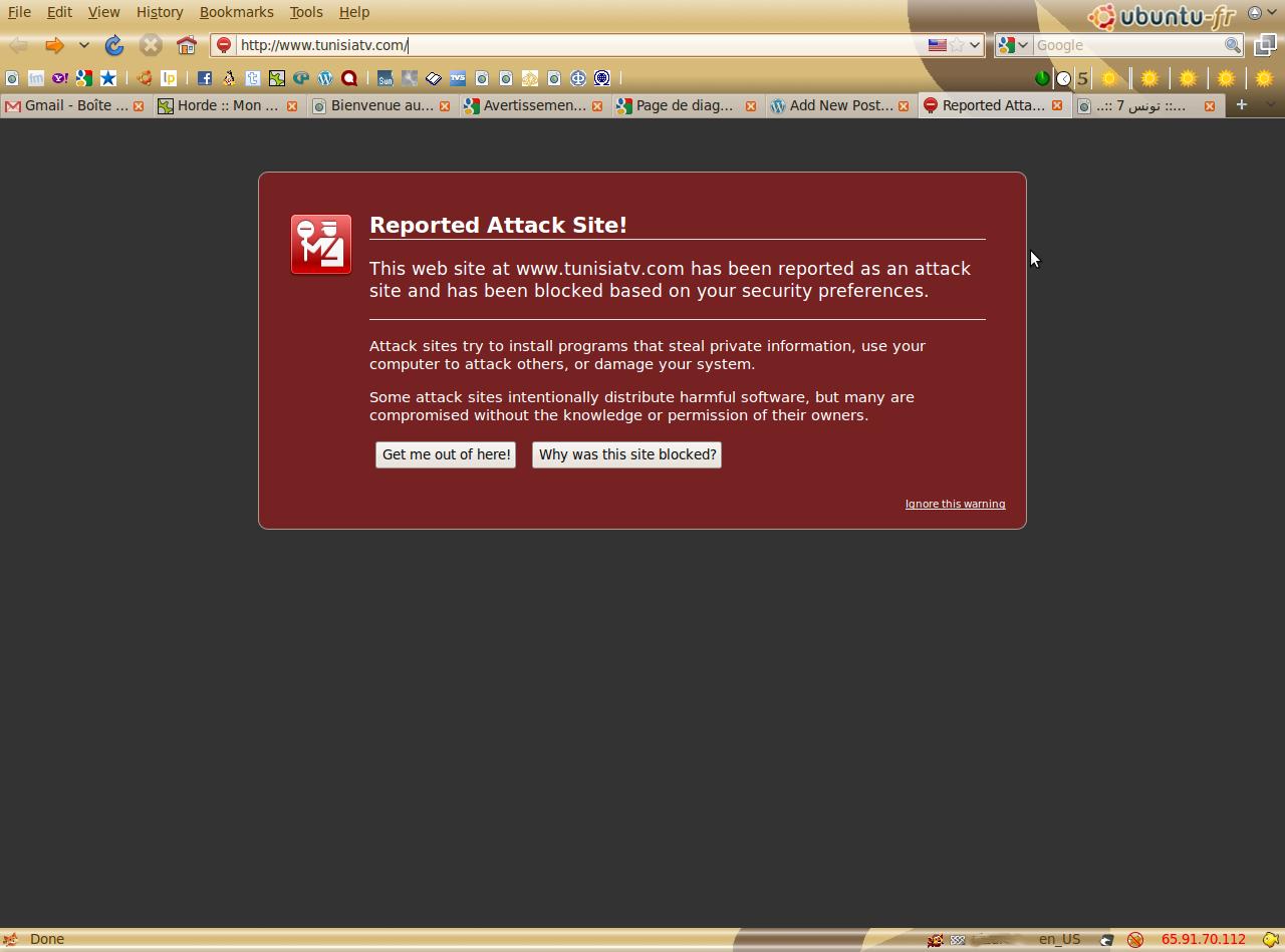 Dignostic Firefox