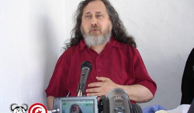 Richard Stallman en Tunisie